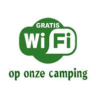 gratis WiFi op onze camping
